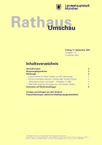 Rathaus Umschau 173 / 2015