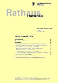 Rathaus Umschau 175 / 2015