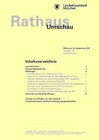 Rathaus Umschau 176 / 2015