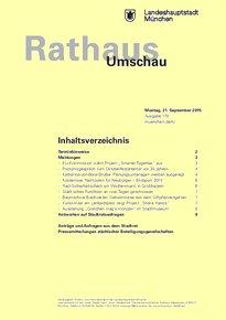 Rathaus Umschau 179 / 2015