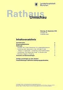 Rathaus Umschau 180 / 2015