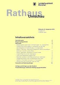Rathaus Umschau 181 / 2015