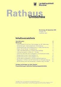 Rathaus Umschau 182 / 2015