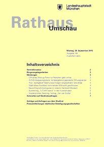 Rathaus Umschau 184 / 2015