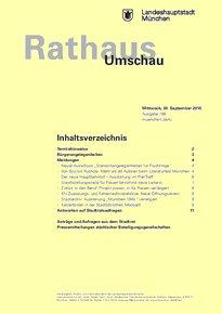 Rathaus Umschau 186 / 2015