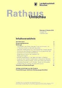 Rathaus Umschau 190 / 2015