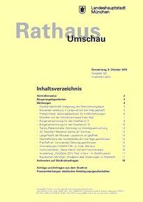 Rathaus Umschau 192 / 2015