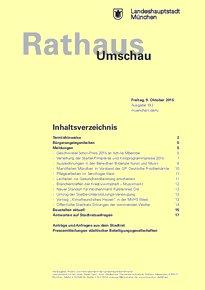 Rathaus Umschau 193 / 2015