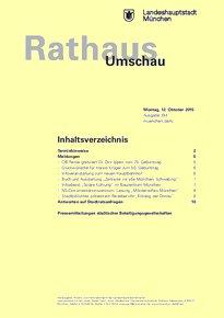 Rathaus Umschau 194 / 2015