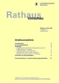 Rathaus Umschau 2 / 2015