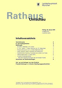 Rathaus Umschau 20 / 2015