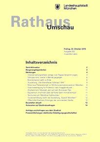 Rathaus Umschau 203 / 2015