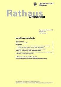 Rathaus Umschau 204 / 2015