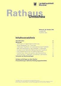 Rathaus Umschau 206 / 2015
