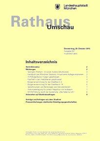 Rathaus Umschau 207 / 2015