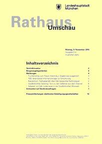 Rathaus Umschau 214 / 2015