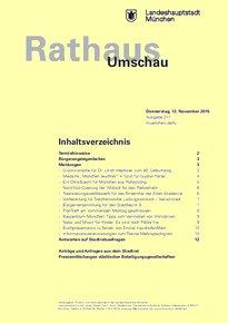 Rathaus Umschau 217 / 2015