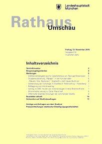 Rathaus Umschau 218 / 2015