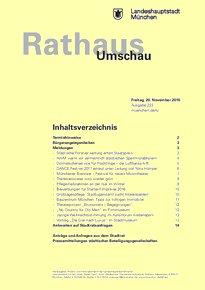 Rathaus Umschau 223 / 2015