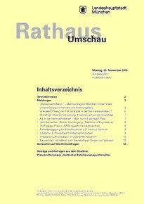 Rathaus Umschau 224 / 2015