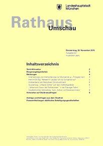Rathaus Umschau 227 / 2015