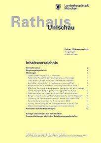 Rathaus Umschau 228 / 2015