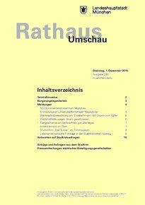 Rathaus Umschau 230 / 2015