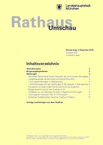 Rathaus Umschau 232 / 2015
