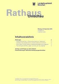 Rathaus Umschau 247 / 2015