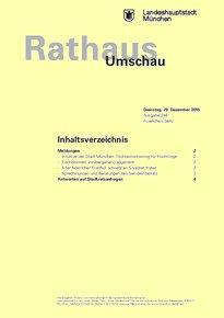 Rathaus Umschau 248 / 2015