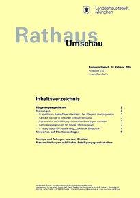Rathaus Umschau 32 / 2015