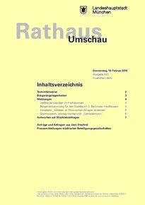 Rathaus Umschau 33 / 2015