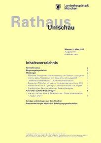 Rathaus Umschau 40 / 2015