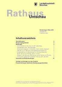 Rathaus Umschau 43 / 2015