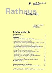 Rathaus Umschau 49 / 2015