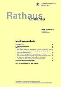 Rathaus Umschau 5 / 2015