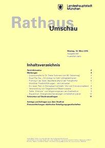 Rathaus Umschau 50 / 2015