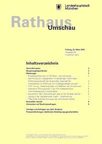 Rathaus Umschau 54 / 2015