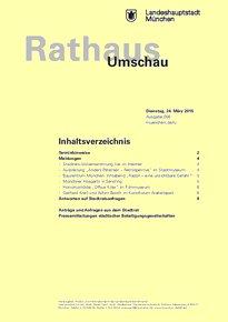 Rathaus Umschau 56 / 2015