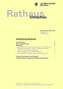 Rathaus Umschau 58 / 2015