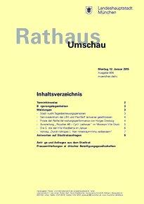 Rathaus Umschau 6 / 2015