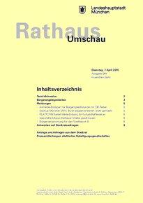 Rathaus Umschau 64 / 2015