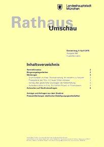 Rathaus Umschau 66 / 2015
