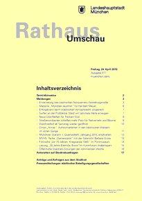 Rathaus Umschau 77 / 2015