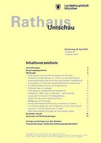Rathaus Umschau 81 / 2015