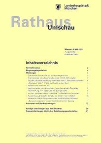 Rathaus Umschau 82 / 2015
