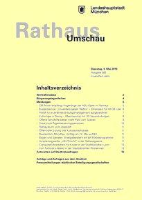 Rathaus Umschau 83 / 2015