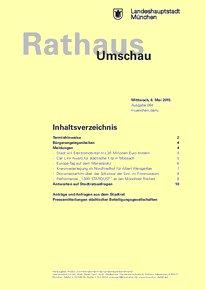 Rathaus Umschau 84 / 2015