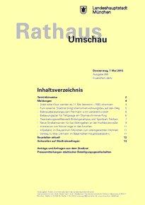 Rathaus Umschau 85 / 2015