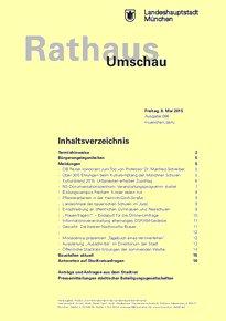 Rathaus Umschau 86 / 2015